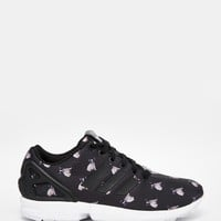 adidas Originals x Rita Ora Pug Print ZX Flux Trainers at asos.com