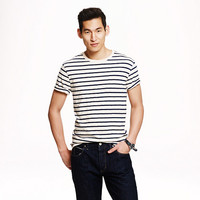 J.Crew Mens Long-Sleeve Deck-Striped T-Shirt