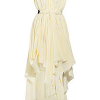 Vionnet | Draped silk dress | NET-A-PORTER.COM