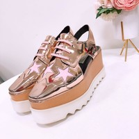 stella mccartney  Women Casual Shoes Boots  fashionable casual leather