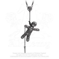 Voodoo Doll Pendant Alchemy of England