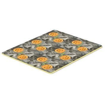 Watecolor Halloween Jack-O-Lantern Bats Kitchen or Bath Mat 20x30 BB7525CMT