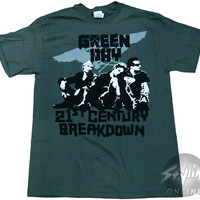 Green Day 21st Century Breakdown T-Shirt