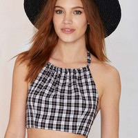 After Party Vintage Elysian Crop Top