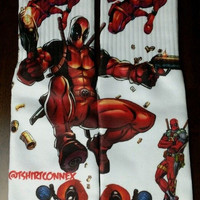 DEADPOOL 3D SOCKS