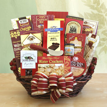 For the Entire Crew Gift Basket
