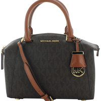 Michael Kors Riley Women's Signature Logo Small Satchel Bag