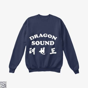 Miami Connection's Newest House Band, Dragon And Dungeon Crew Neck Sweatshirt