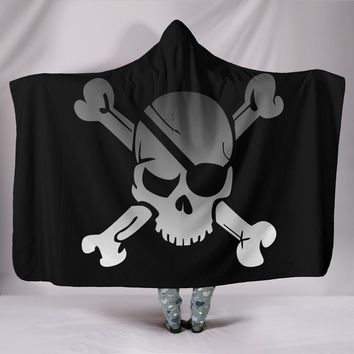 Best Skull Hooded Blanket
