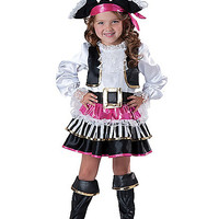 Toddler Pirate Girl Costume - Spirithalloween.com