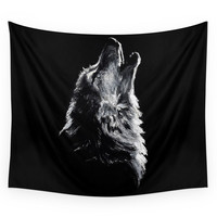 Society6 Wolf Wall Tapestry