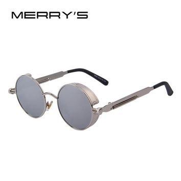 Vintage Women Steampunk Sunglasses  Oculos UV400
