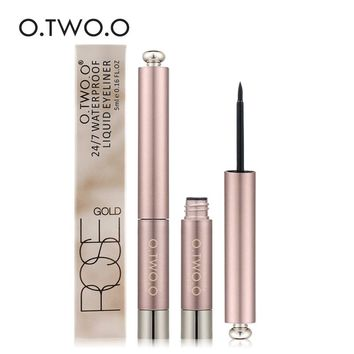 O.TWO.O Liquid Eyeliner Waterproof Long Lasting Eyeliner Pen Smudge-proof Brand Makeup Eyeliner Professional Eyes Maquiagem