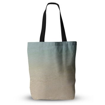"""Catherine McDonald """"Ombre Sea"""" Beach Photography Everything Tote Bag"""