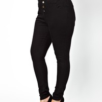 New Look Inspire High Waisted Super Soft Jean at asos.com
