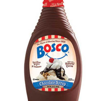 The Original Bosco Chocolate Syrup - 22 oz Squeeze Bottle