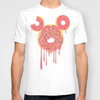 Donut Mickey T-shirt by thatonebrand