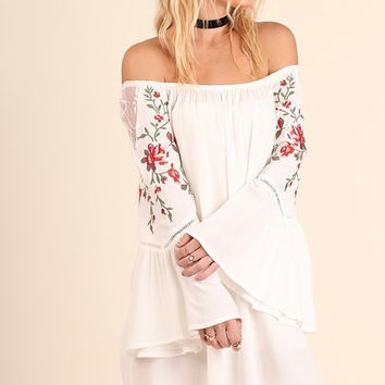 Anna Embroidered Dress