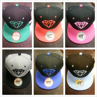 Fashion Diamond Snapback Snap back hats