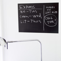 Aeropostale  Chalkboard Decal - Black, One