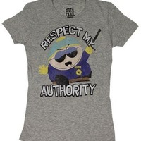 Respect My Authority - South Park Sheer Womens T-shirt