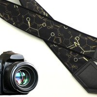 Chemistry  camera strap. DSLR / SLR Camera Strap. Camera accessories for Nikon, Canon, Sony, Panasonic and other cameras. Photo accessories.