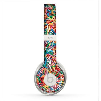 The Colorful Candy Sprinkles Skin for the Beats by Dre Solo 2 Headphones