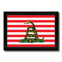 Revolution Split Up New Sprint Military Flag Canvas Print Black Picture Frame Gifts Home Decor Wall Art
