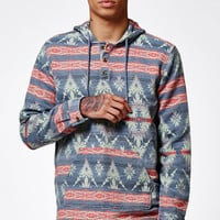 On The Byas Jarren Baja Long Sleeve Hooded Shirt at PacSun.com