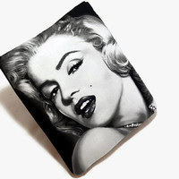 Hand Crafted Tablet Case From Marilyn Monroe Fabric /Case for: iPad mini, Kindle Fire HD 7, Samsung Galaxy 7, Nook HD 7