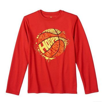 CREY7GX Tek Gear Basketball Graphic Tee - Boys 8-20 Size