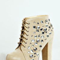 Lucy Lace Up Platform Boot