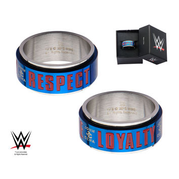 WWE JOHN CENA HUSTLE/LOYALTY/RESPECT RING S12