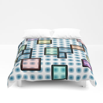 zappwaits glass Duvet Cover by netzauge