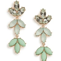 Mint Laurel Drops - Earrings - All Jewelry