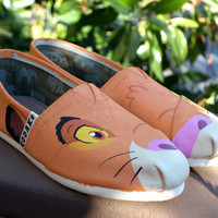 KOOAK Kustoms Disney Lion King Simba - Inspired Toms Flats