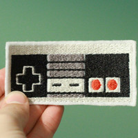 Nintendo Throwback  Embroidered Ironon Nintendo NES by OKsmalls