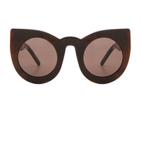 VALLEY EYEWEAR Wolves in Brown Pearl Flake & Brown