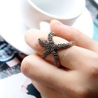 Oh Starfish, My Starfish Ring Bronze