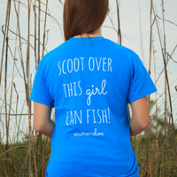 Scoot Over Fish Tee