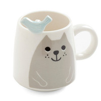 Cat and Grouse Mug Set | Mod Retro Vintage Kitchen | ModCloth.com