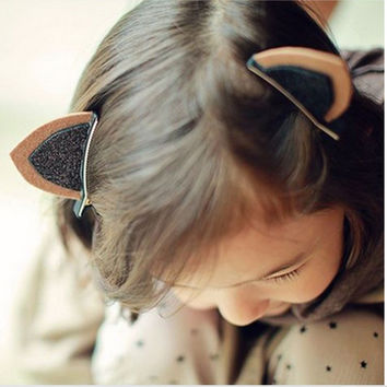 Cat Ear Head Clips