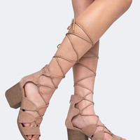 Melly Lace Up Sandal