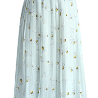 Soft Daisy Pleated Skirt Multi S/M