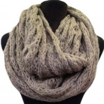Mega Winter QUICK SALE: Soft Knitted Warm and Cozy Infinity Scarf