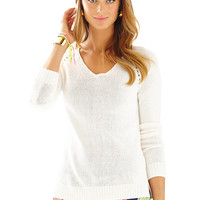 Lilly Pulitzer Bennett V-Neck Pullover Sweater