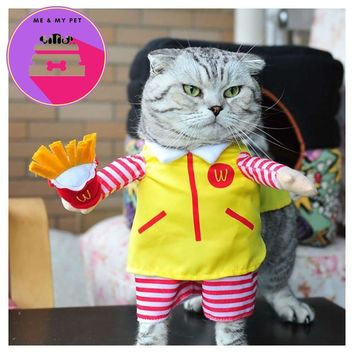Pet Dog/ Cat Costume Suit  McDonalds