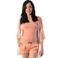 Coral Cardigan - Clothing