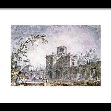 Architectural Fantasy - Framed Print
