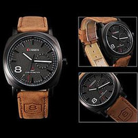 Mens Curren Quartz watches Business Men's Watches fashion leather watch military Army Vogue Sports Wristwatches for mens best gift 2 color